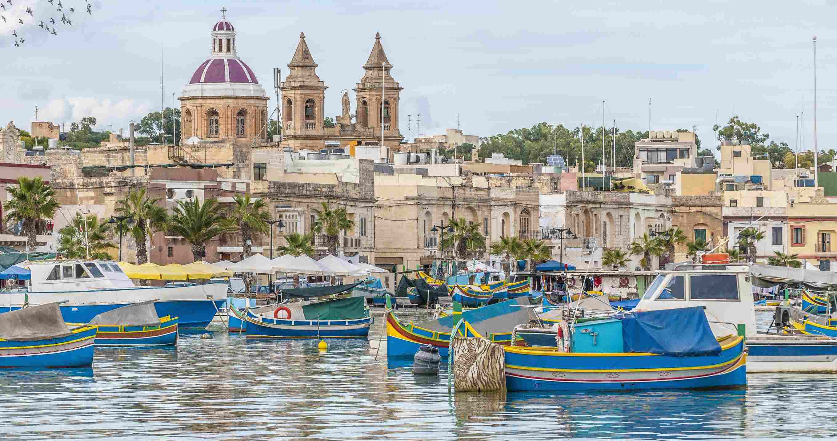 Harbor of Marsaxlokk