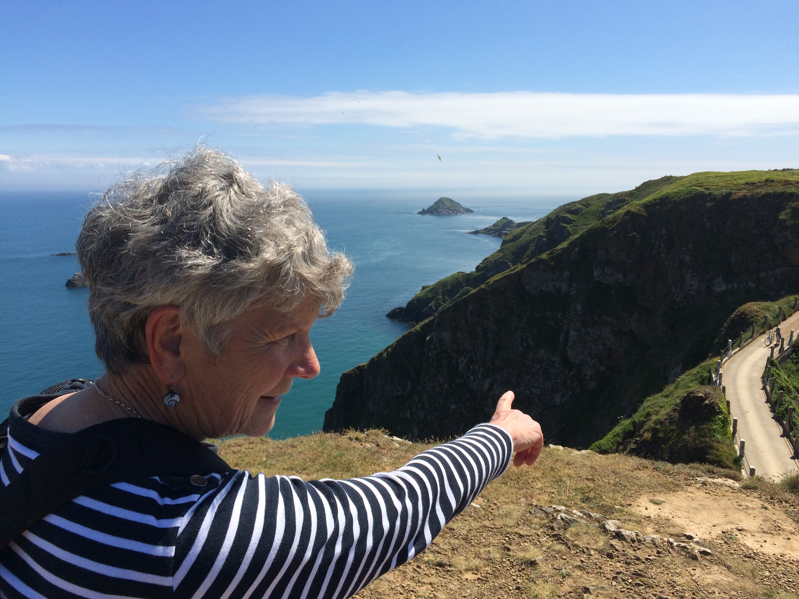 Golden Compass France Ireland Scotland Tour Leader Louise Shave